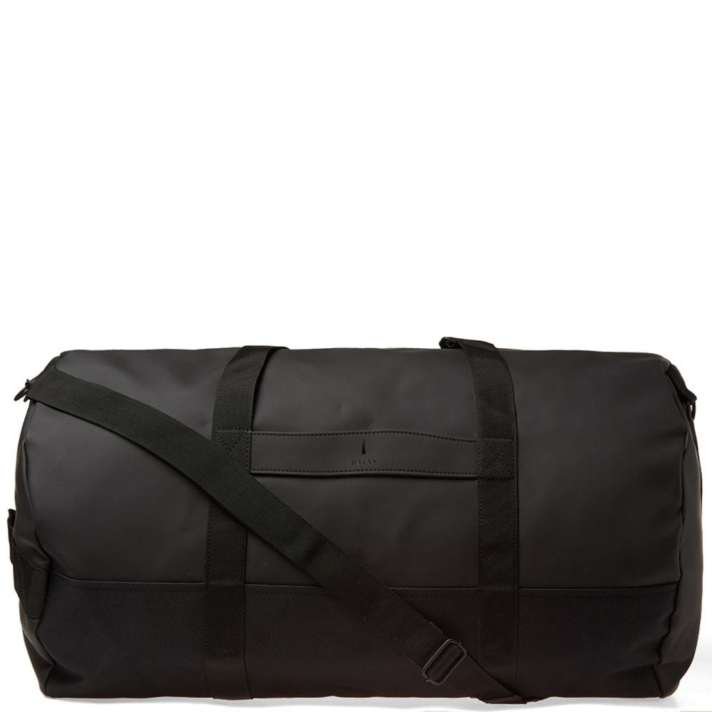 Photo: Rains Travel Duffel Bag Black