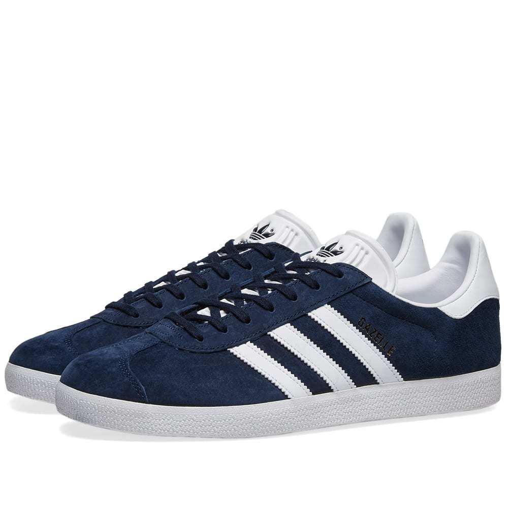 Adidas Gazelle Collegiate Navy & White