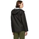 Stone Island Black Jacquard Marina 3L Jacket
