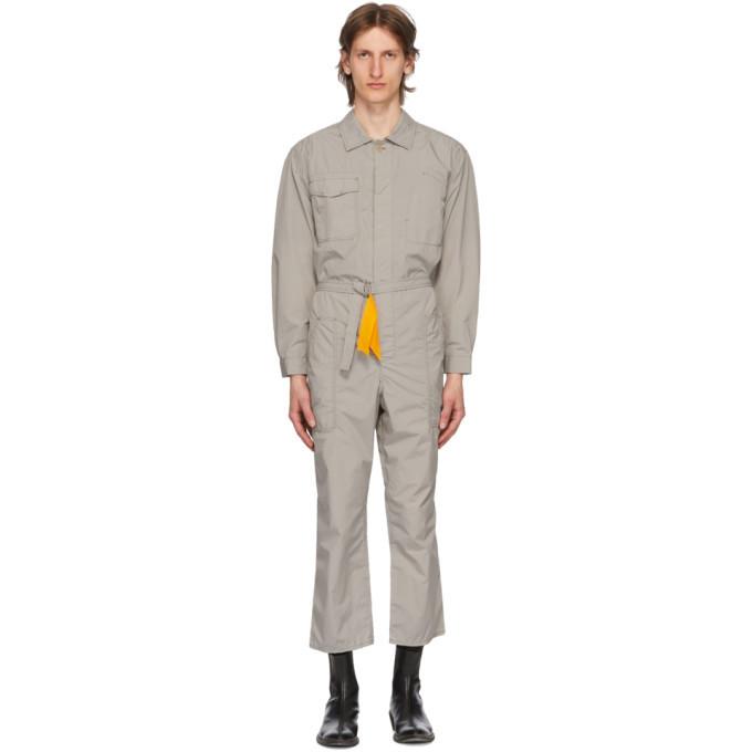 Photo: Haider Ackermann Grey Workwear Jumpsuit