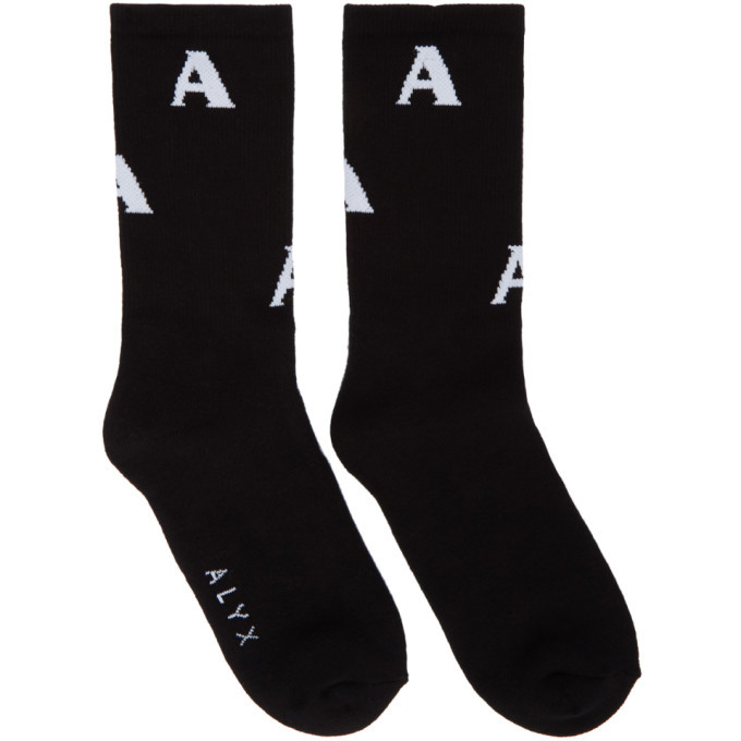 Photo: Alyx Black Triple A Socks
