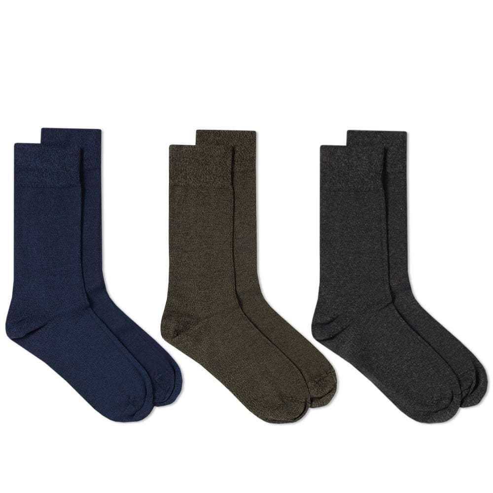 Schiesser Fred Sock - 3 Pack Blue