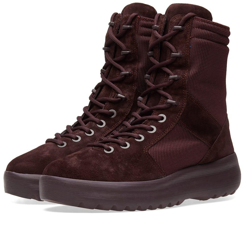 Photo: Yeezy Season 6 Military Boot Burgundy