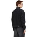 Ksubi Black Denim Oh G Burnout Jacket