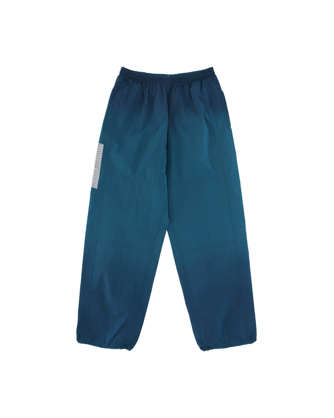 Aries Ombré Dyed Windcheater Pants Violet/Green