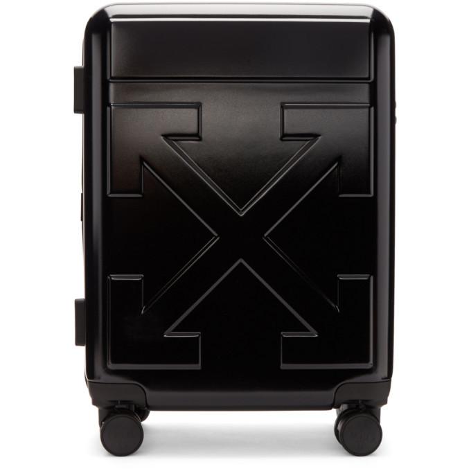 Photo: Off-White Black Arrows Suitcase
