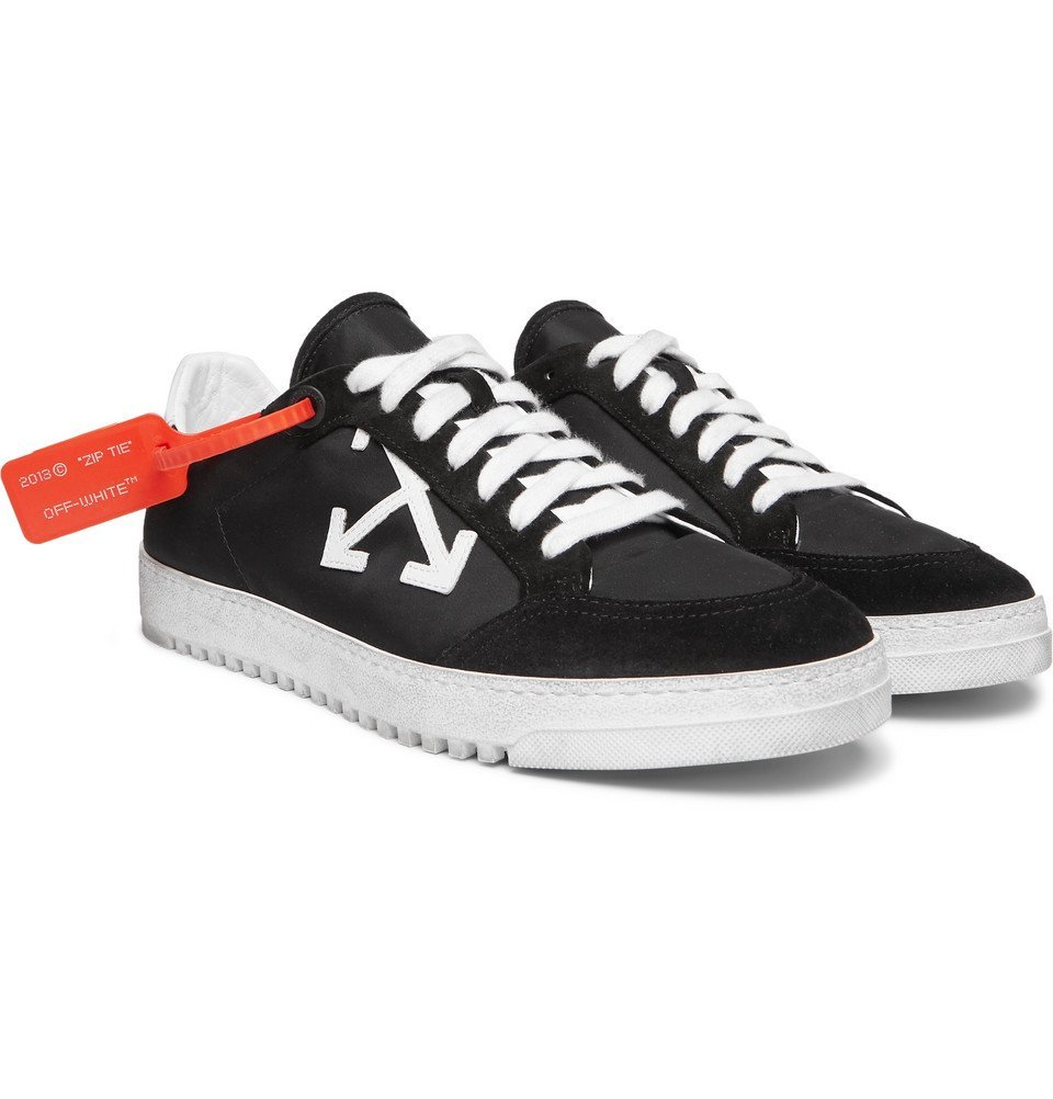 3.0 Polo Suede-Trimmed Shell Sneakers