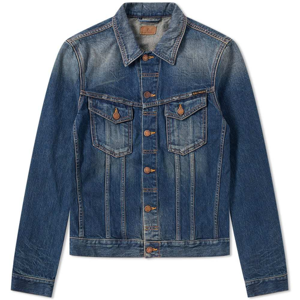 Photo: Nudie Billy Dark Authentic Denim Jacket