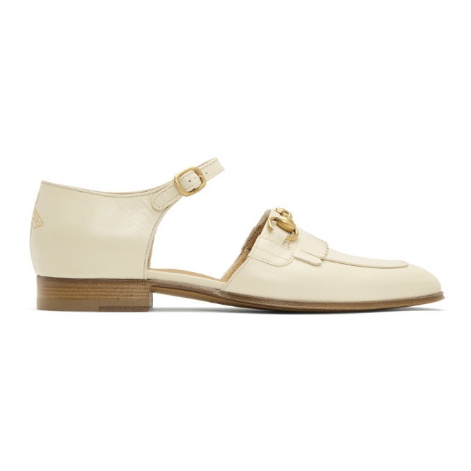 Photo: Gucci Ivory Harbor Dress Loafers