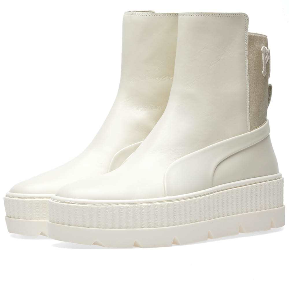 Photo: Puma x Fenty by Rihanna Chelsea Sneaker Boot Neutrals