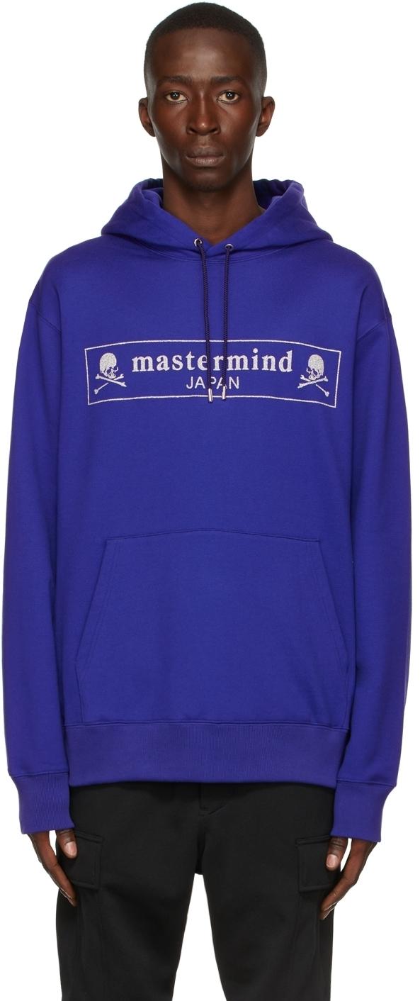 Photo: mastermind JAPAN Blue Boxed Logo Hoodie