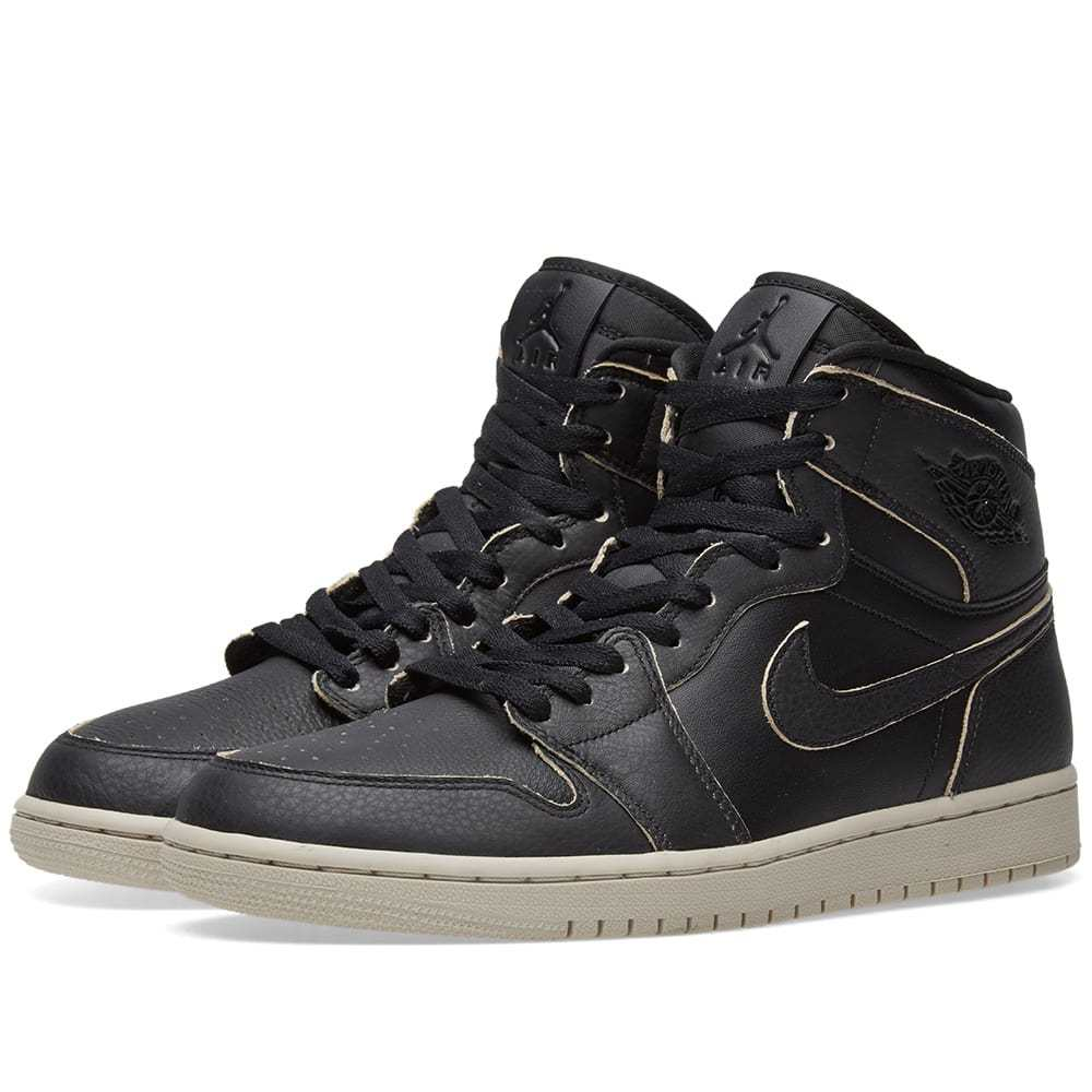 Air Jordan 1 Retro High Premium Black