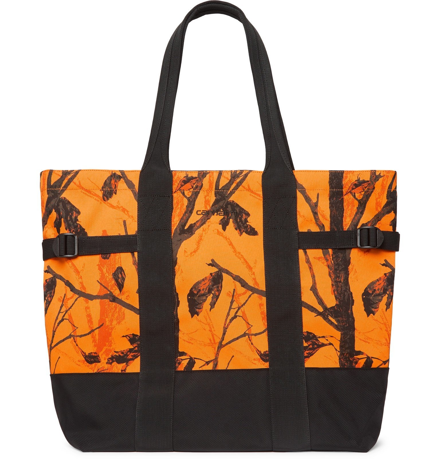 Photo: Carhartt WIP - Printed CORDURA Tote Bag - Orange