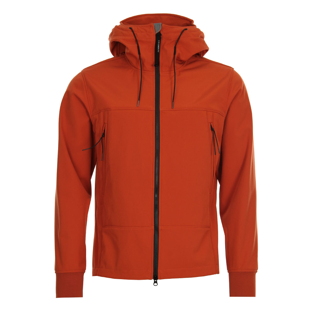 Soft Shell Goggle Jacket - Burnt Orange