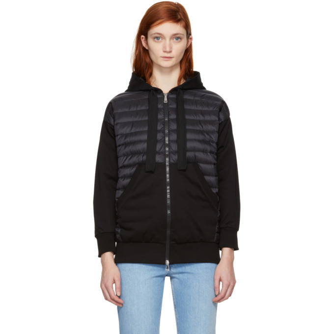 Photo: Moncler Black Down Hoodie