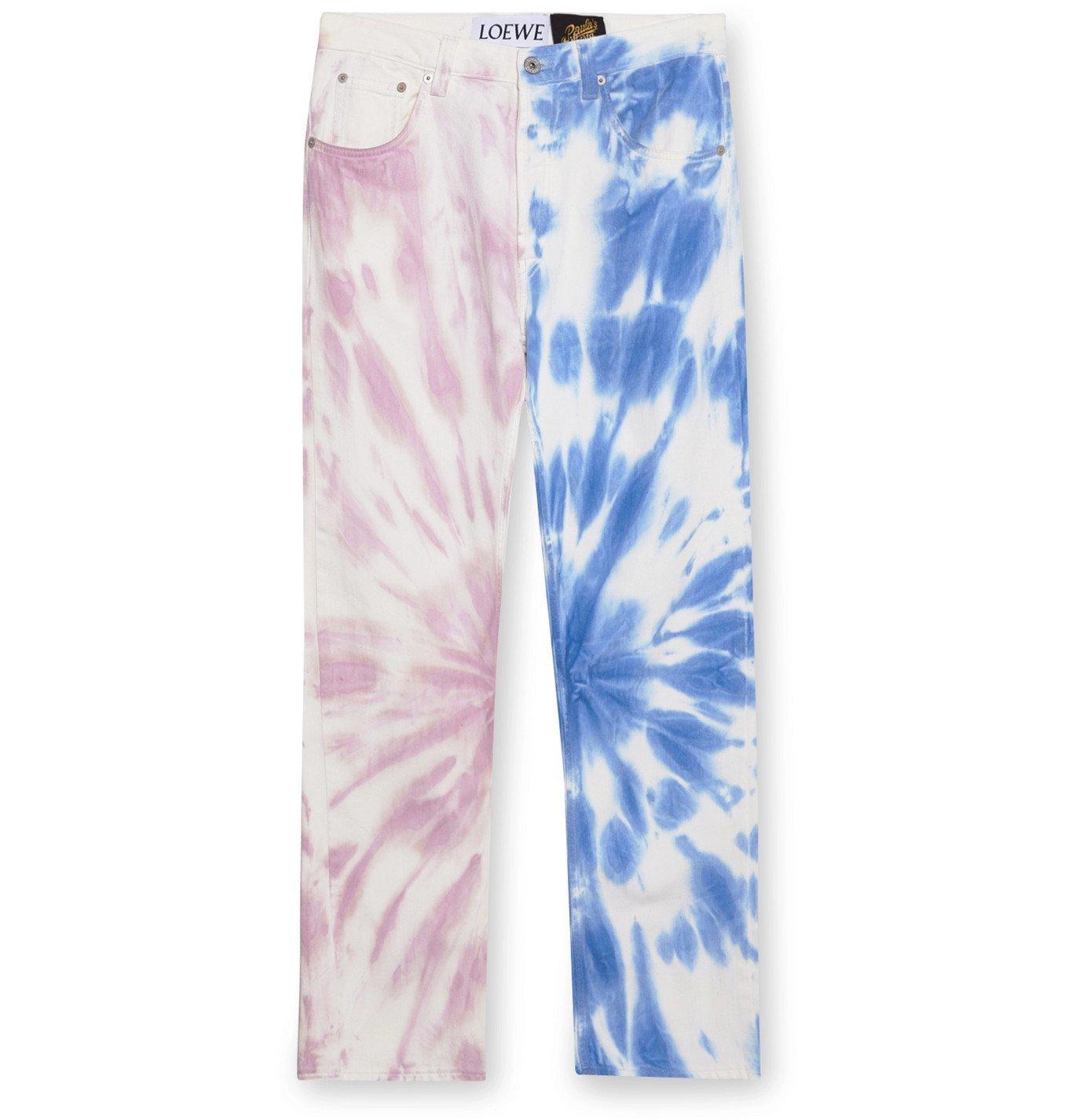 Photo: Loewe - Paula's Ibiza Tie-Dyed Denim Jeans - Unknown