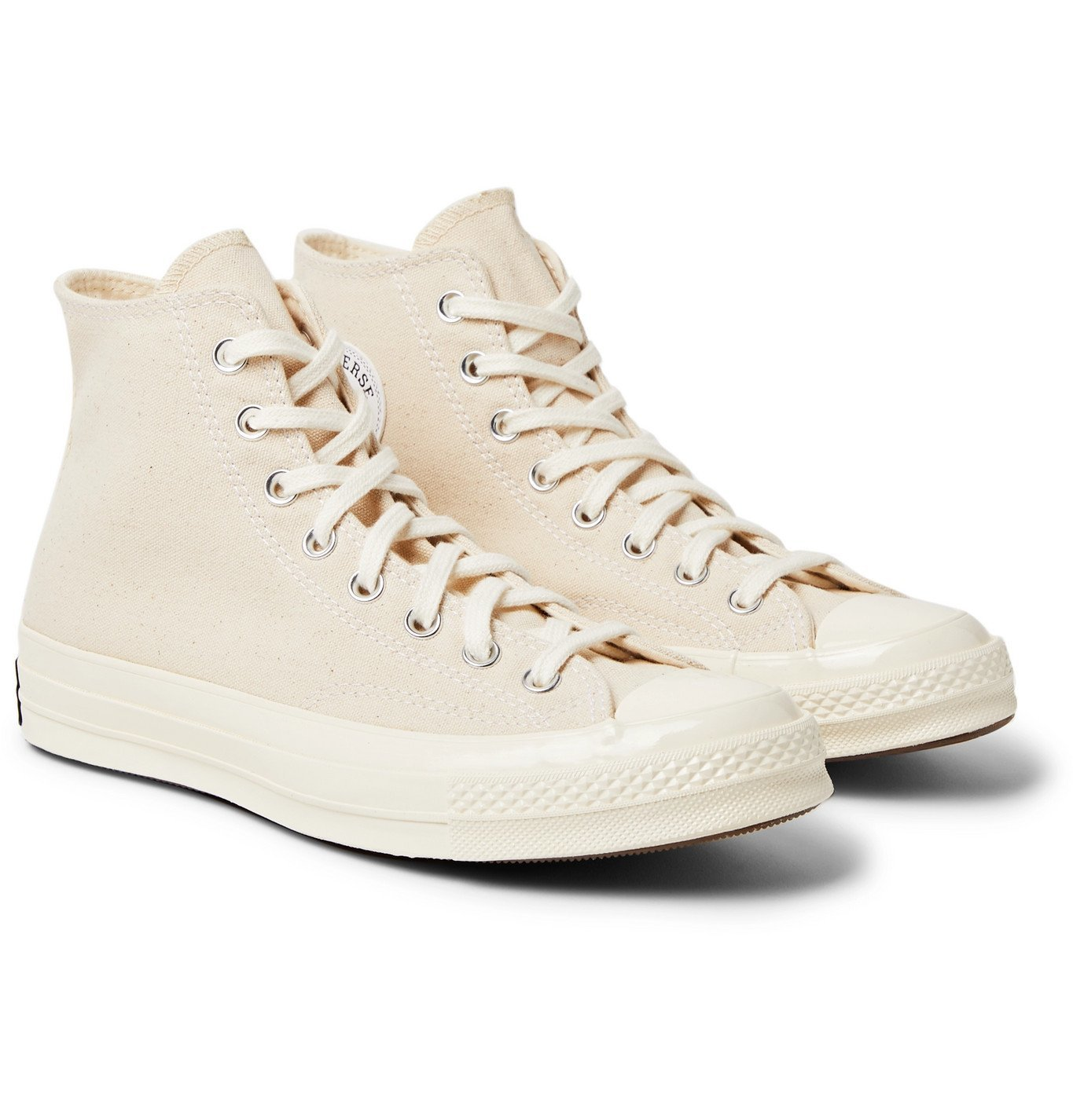 Photo: CONVERSE - Chuck 70 Canvas High-Top Sneakers - Neutrals