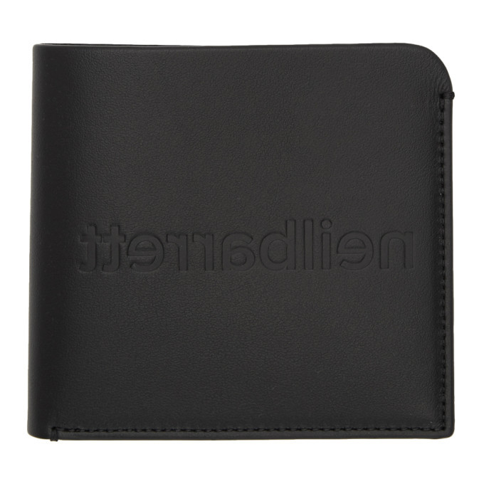 Photo: Neil Barrett Black Medium Fold Wallet