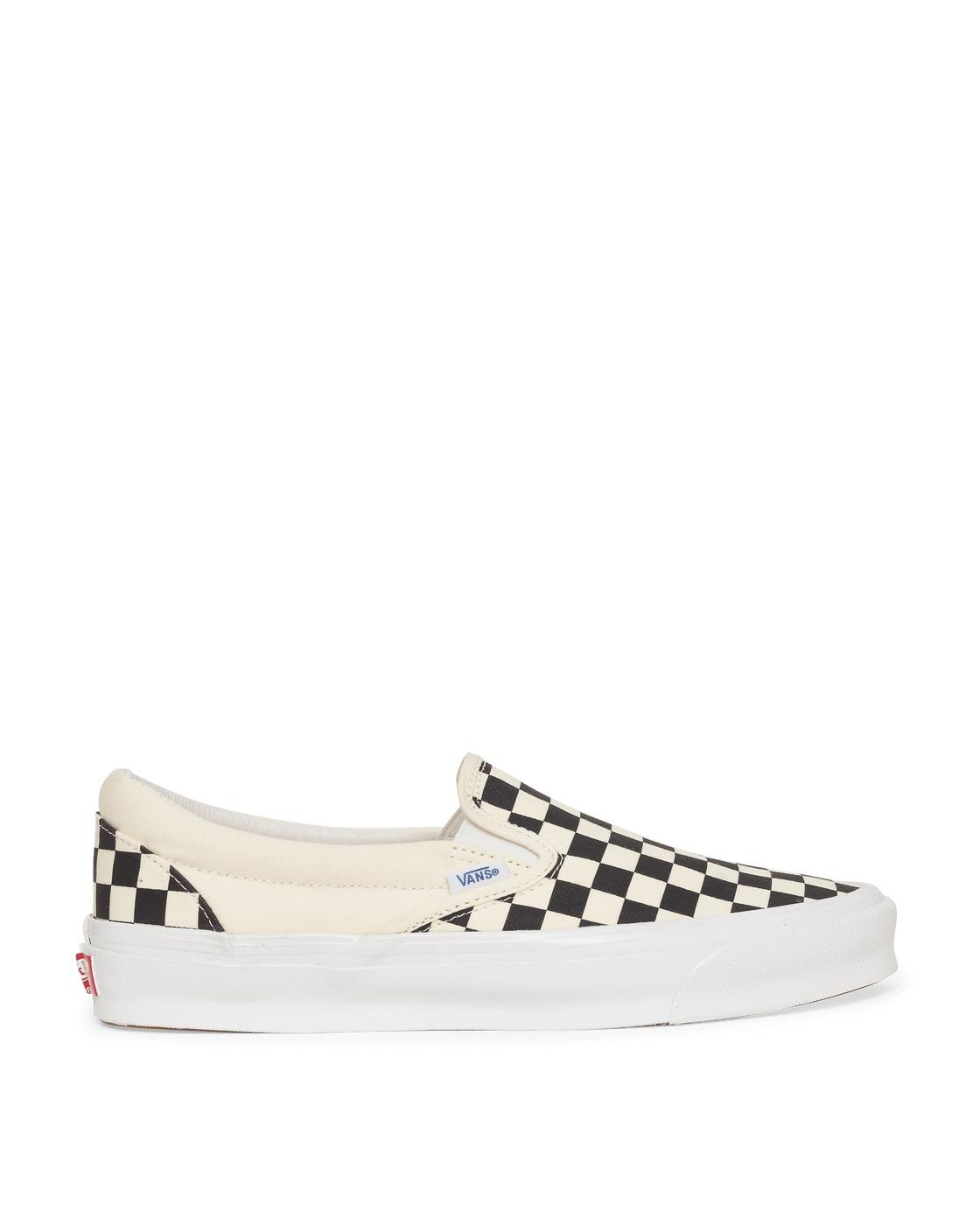 Photo: Vans Og Classic Slip On Lx Sneakers Checkerboard