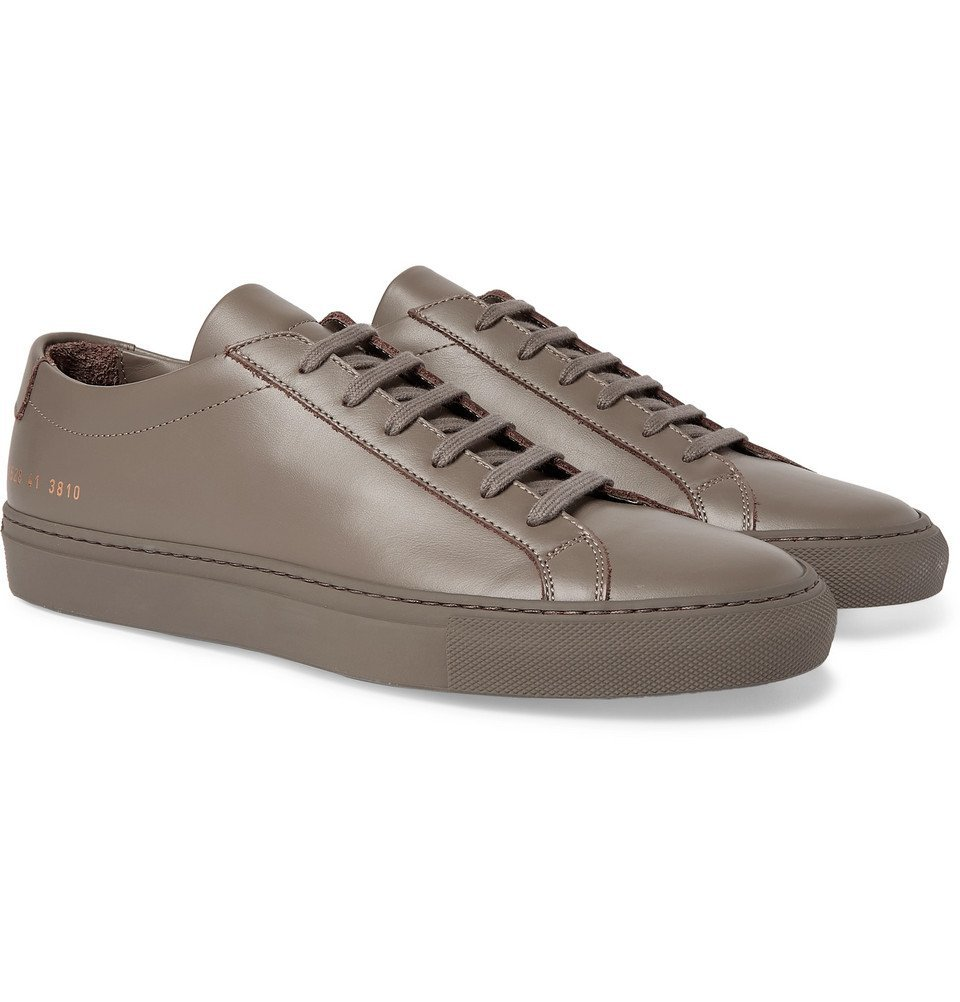Photo: Common Projects - Original Achilles Leather Sneakers - Gray