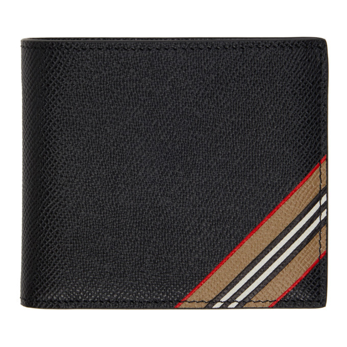 Photo: Burberry Black Stripe International Wallet