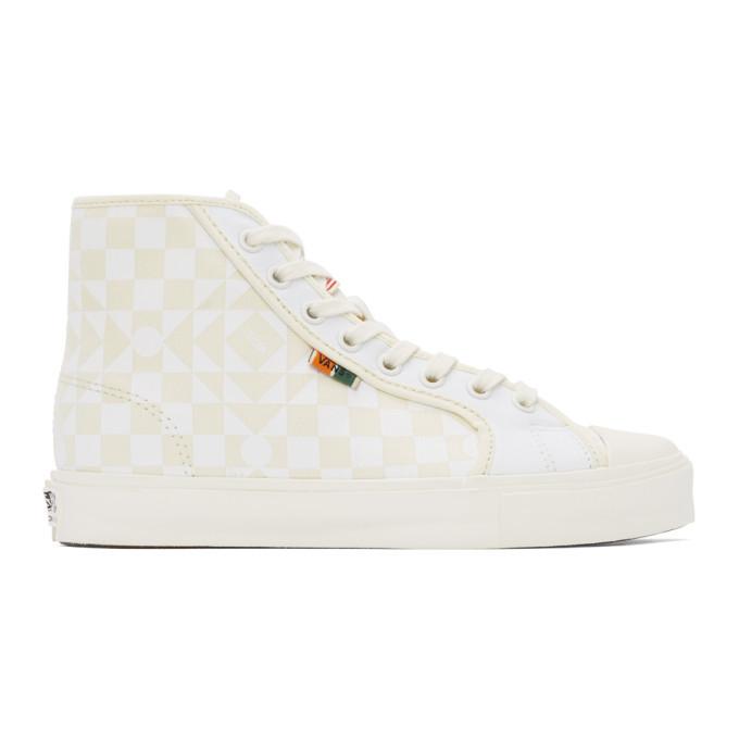 Photo: Vans Beige and White Taka Hayashi Edition UA OG 24 LX Sneakers