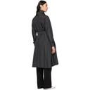 Max Mara Black Campo Trench Coat