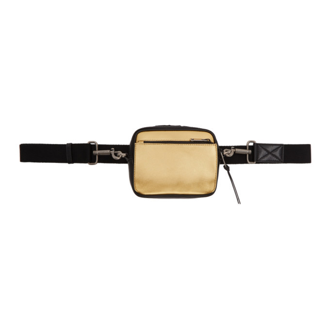 Photo: Givenchy Black and Gold MC3 Cross Body Bag