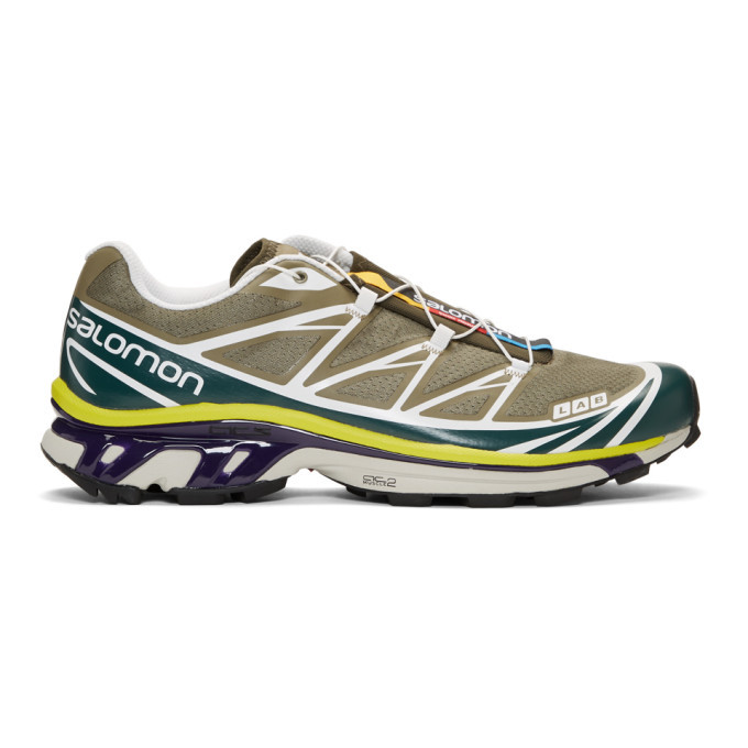 Photo: Salomon Green S/Lab XT-6 SoftGround LT ADV Sneakers