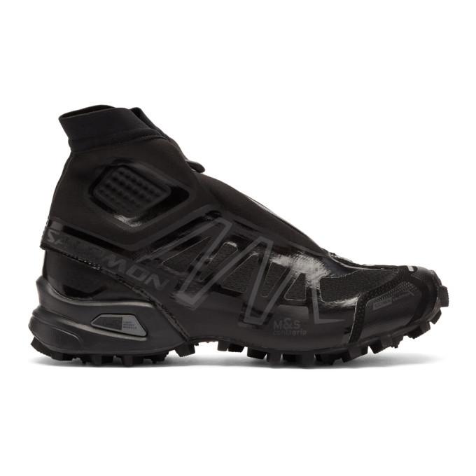 Photo: Salomon Black Snowcross High-Top Sneakers