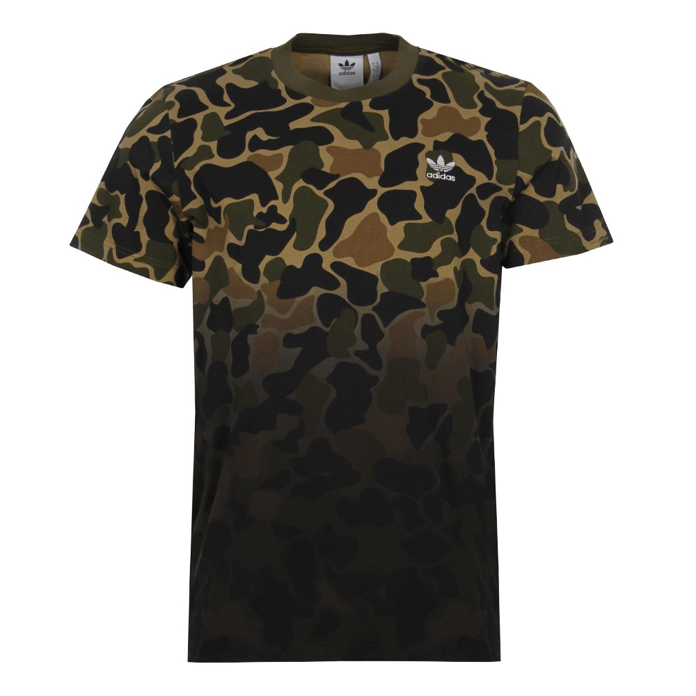 wholesale dealer 056f3 184cf T-Shirt - Camo Adidas