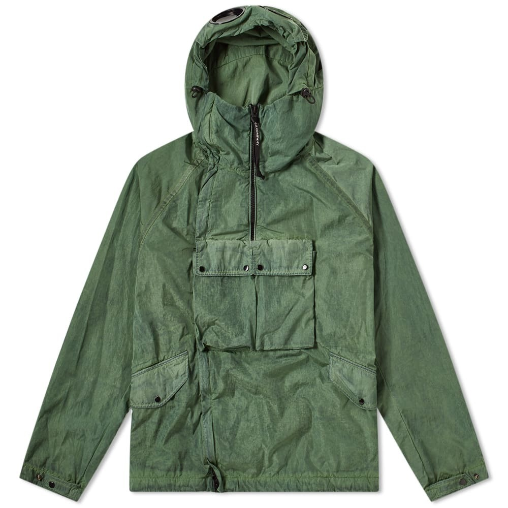 C.P. Company Chrome Re-Colour Popover Goggle Jacket Green