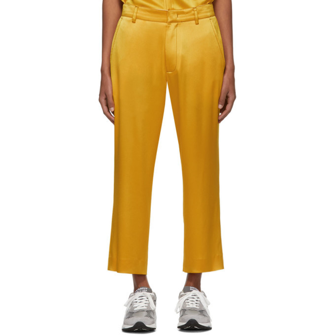 Photo: Sies Marjan Yellow Satin Alex Trousers