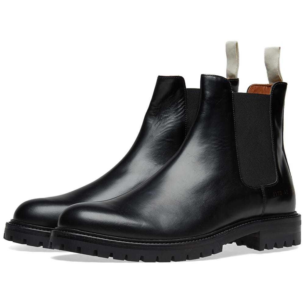 Photo: Common Projects Chelsea Boot Lug Sole