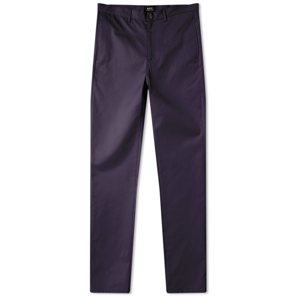 Photo: A.P.C. Classic Chino Dark Navy Gabardine