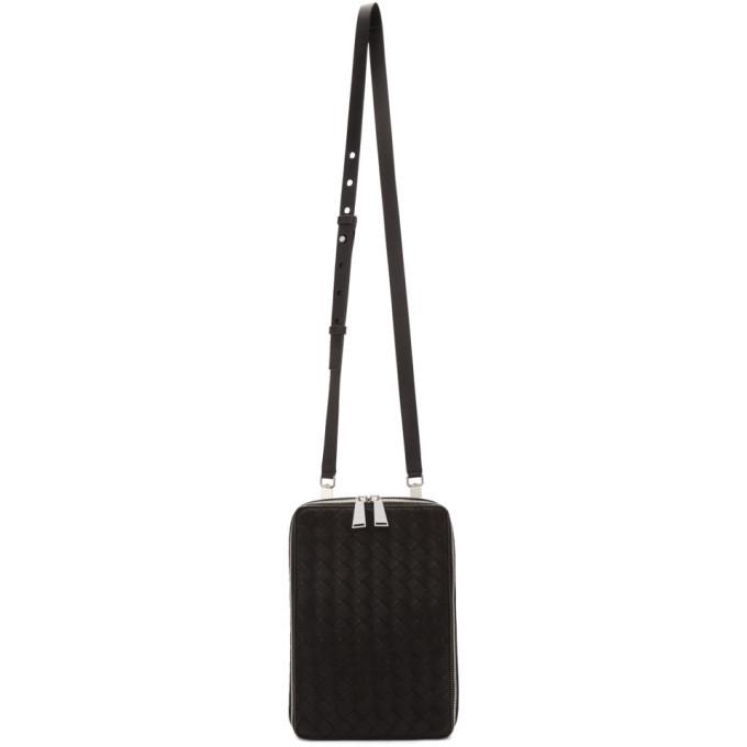 Photo: Bottega Veneta Black Intrecciato Leather Bag