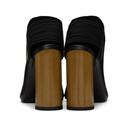 3.1 Phillip Lim Black Leather Drum Slingback Heels