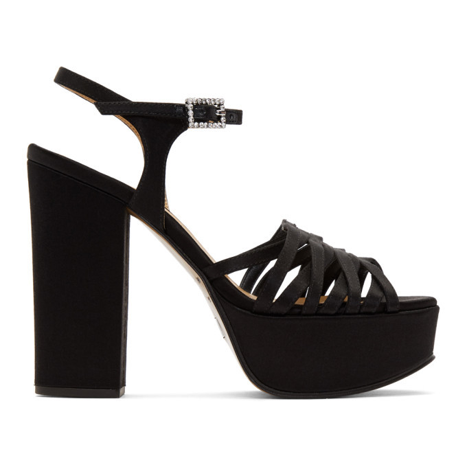 Photo: Marc Jacobs Black The Glam Heeled Sandal