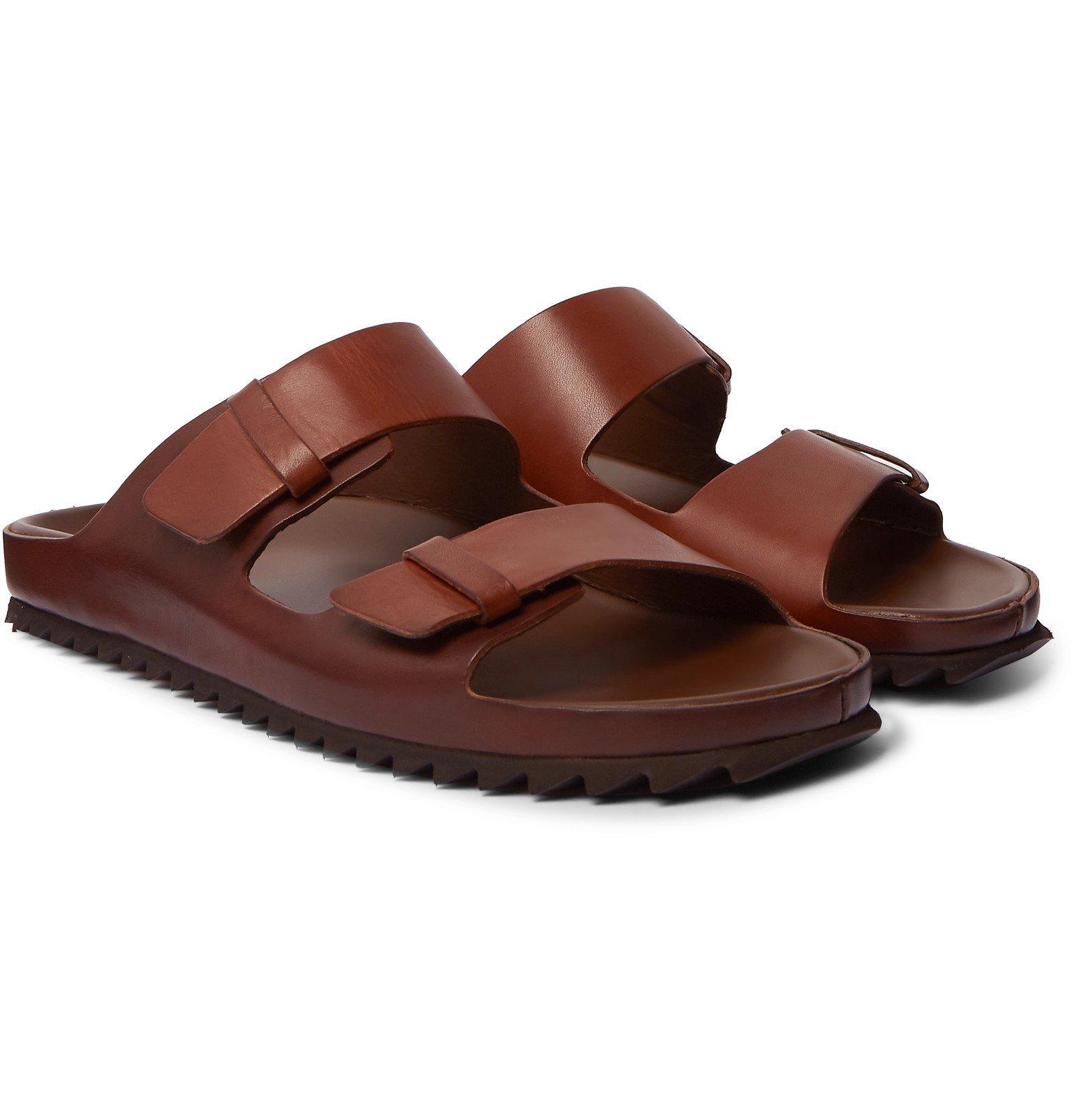 Photo: Officine Creative - Agora Leather Sandals - Brown