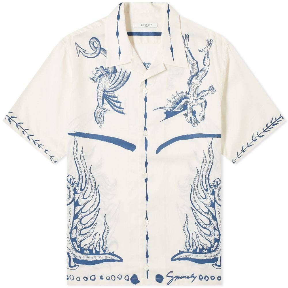 Photo: Givenchy Icarus Hawaiian Shirt