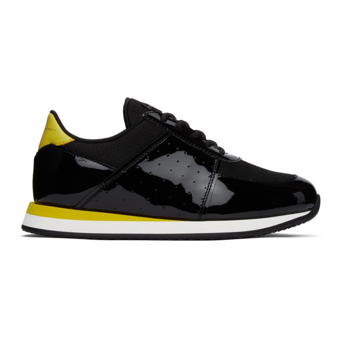 Photo: Giuseppe Zanotti Black and Yellow Megatron Sneakers