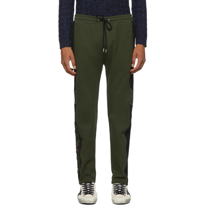 Photo: Kenzo Green Mixed Mesh Lounge Pants