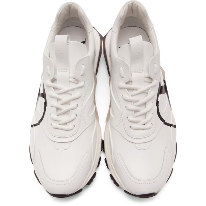 Valentino White Valentino Garavani V-Logo Bounce Sneakers