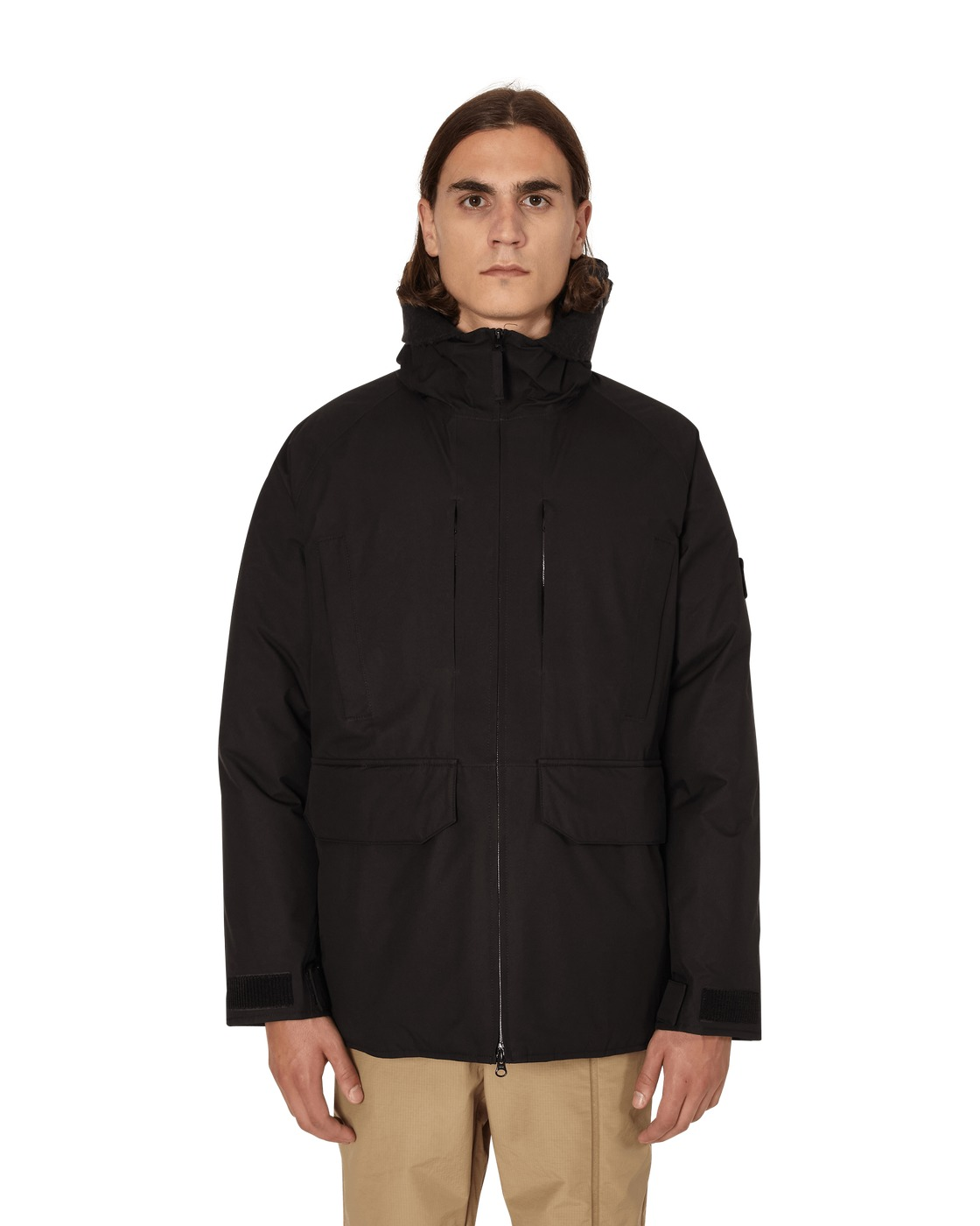 Photo: Stone Island Down Jacket Black