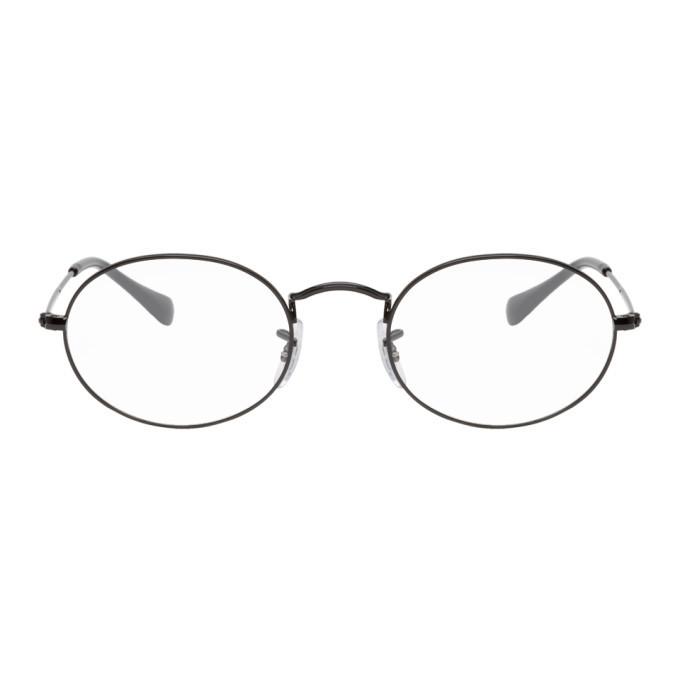 Photo: Ray-Ban Black Shiny Glasses