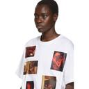 Raf Simons White Six Picture T-Shirt