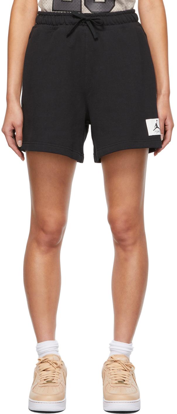 Photo: Nike Jordan Black Essential Sweat Shorts