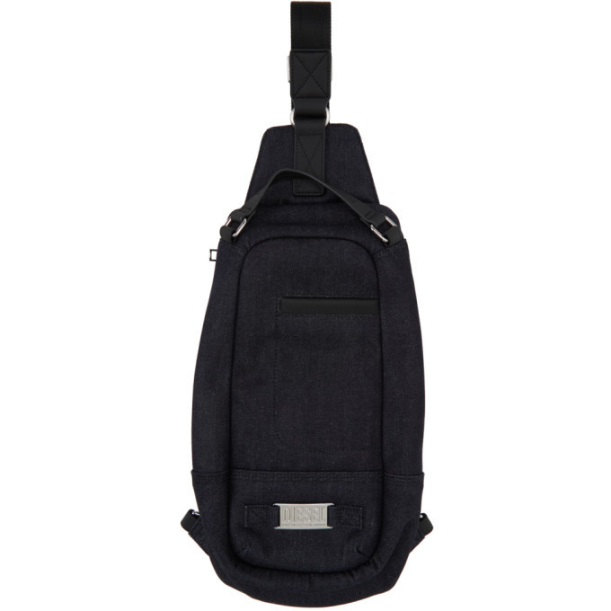 Photo: Diesel Navy Denim Bhodio Bag