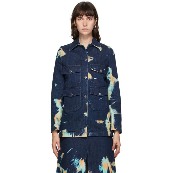 Photo: Stella McCartney Blue Denim Acid Wash Jacket