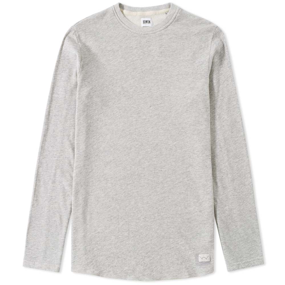 Edwin Long Sleeve Terry Tee